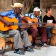 Band playing traditional music in Old Havana — Stock Photo #11836873