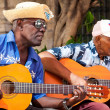 Stock Photo: Band playing traditional music in Old Havana