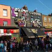 The Market at Camden Town in London — Stock Photo