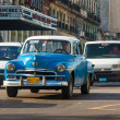 Old classic americcar in Havana — Foto Stock #12203667
