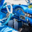 Stock Photo: Interior of vintage americcar