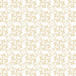 Seamless Floral Pattern - Stockvektor