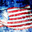 American Flag Art — Stock Photo