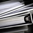 Business Papers Binder Files — Stock Photo