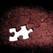 Puzzle Together — Stock Photo