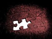 Birlikte puzzle — Stok fotoğraf