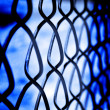Chain Link Fence Security — Stock Photo