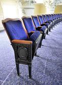 Theater zitplaatsen — Stockfoto