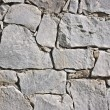 Closeup of old stone wall — Stock Photo