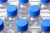 Water bottle lid tops — Stock Photo