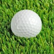 Golf ball close up — Stok fotoğraf