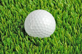 Golf ball close up — Stock Photo