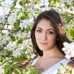 Apple Blossom Woman — Stock Photo #10837100