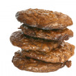 Double Chocolate Cookies — Stock Photo