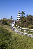 West Point Lighthouse, Prince Edward Island — Stock Photo