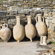 Royalty-Free Stock Photo: Delos Amphora