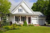 Noord-amerikaanse huis — Stockfoto