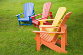 Adirondack Chairs — Stock Photo