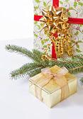 Golden Gift — Stock Photo