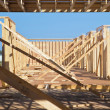 Stock Photo: New Building Construction