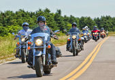 Atlanticade Motorcycle Rally 2012 — Stock Photo