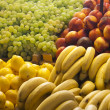 Fruit on display in a market in Budapest — Stock Photo