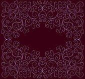 Ornate background — Vector de stock