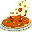 Pizza Toppings — Stock Photo