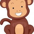 Monkey Front — Stock Photo