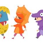 Постер, плакат: Dinosaur Costumes