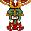 Totem Pole - Stock Photo