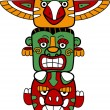Totem Pole — Stock Photo