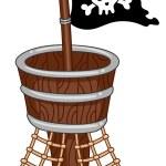 Pirate Flag — Stock Photo