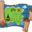 Treasure Map — Stock Photo #11129551