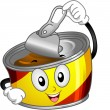 Stock Photo: Canned Food Mascot