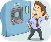 ATM Guy — Stock Photo