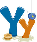 Letter Y — Stock Photo