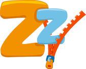 Letter Z — Stock Photo
