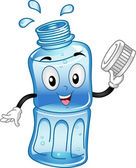 Bottled Water Mascot — Stock Photo