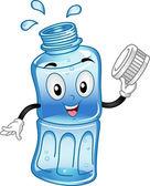 Bottled Water Mascot — Stock Photo