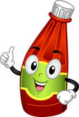Ketchup Mascot — Stock Photo