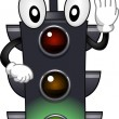 Stoplight Mascot — Stock Photo #11570129