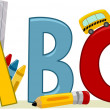 Learning ABCs — Foto Stock