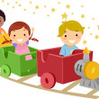 Makeshift Train — Stock Photo