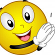 Clapping Smiley — Stockfoto #11570432
