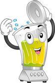 Blender Mascot — Stock Photo