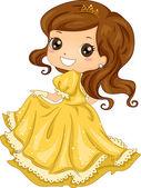 Prinses jurk — Stockfoto