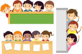 Education Border — Stock Photo