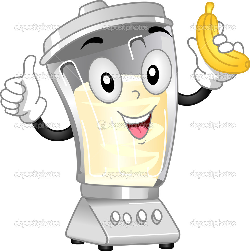 Blender Mascot — Stock Photo © lenmdp #11570037