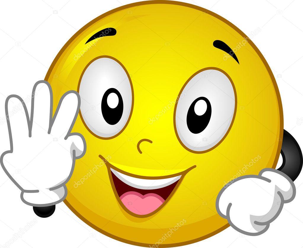 Smiley Whatever Gestur...